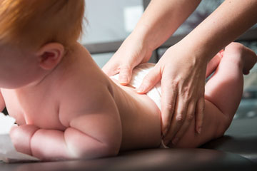 Pediatrics - Adjusting an infant is safe, effective, and extremely gentle. Following the birthing process, a spinal check-up is recommended for the newborn to evaluate the nervous system. A healthy spine and healthy nervous system work in coordination with the rest of the body to promote normal development and function in children of all ages.