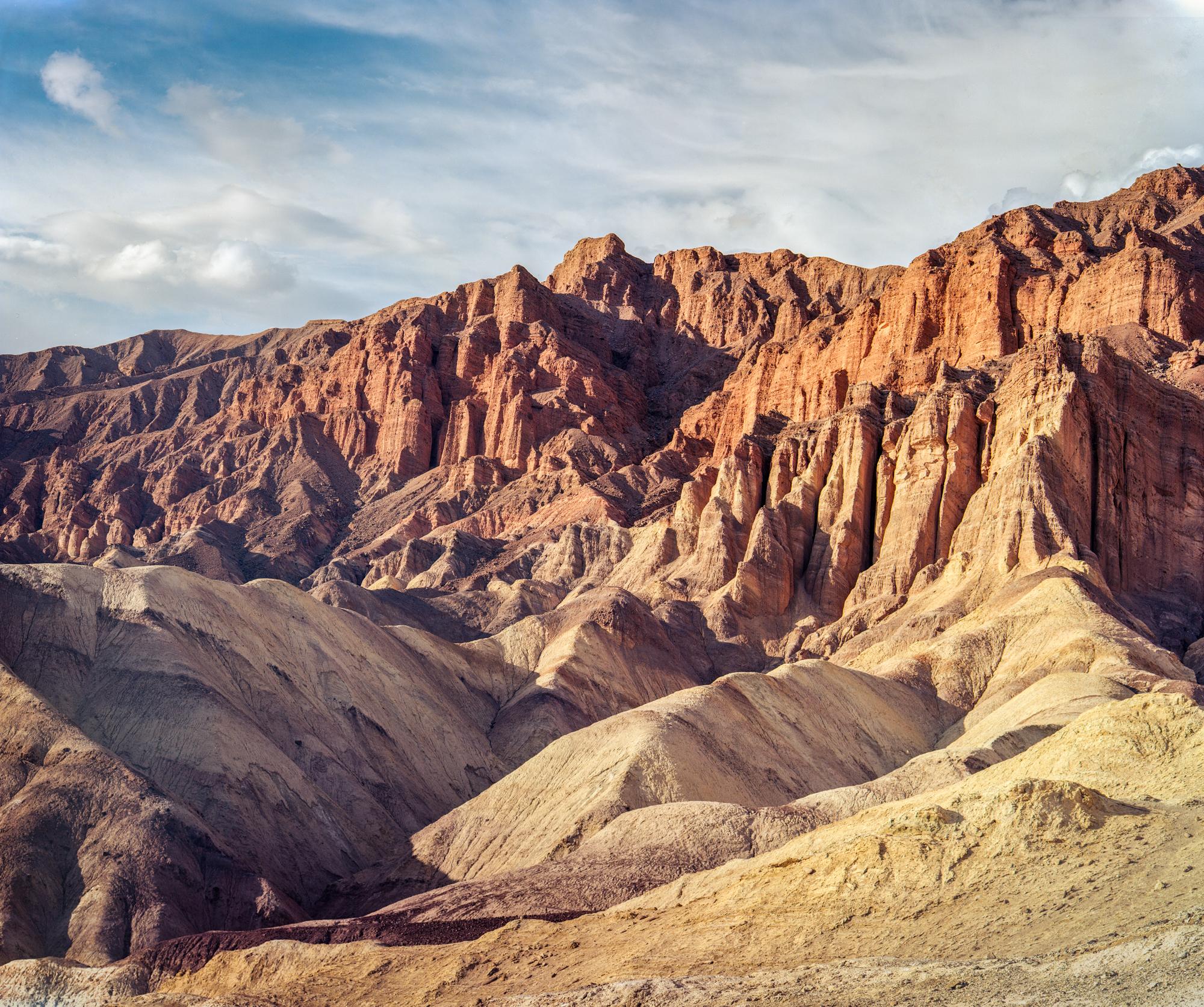 Red Cathedral, Death Valley / Kodak Ektar 100