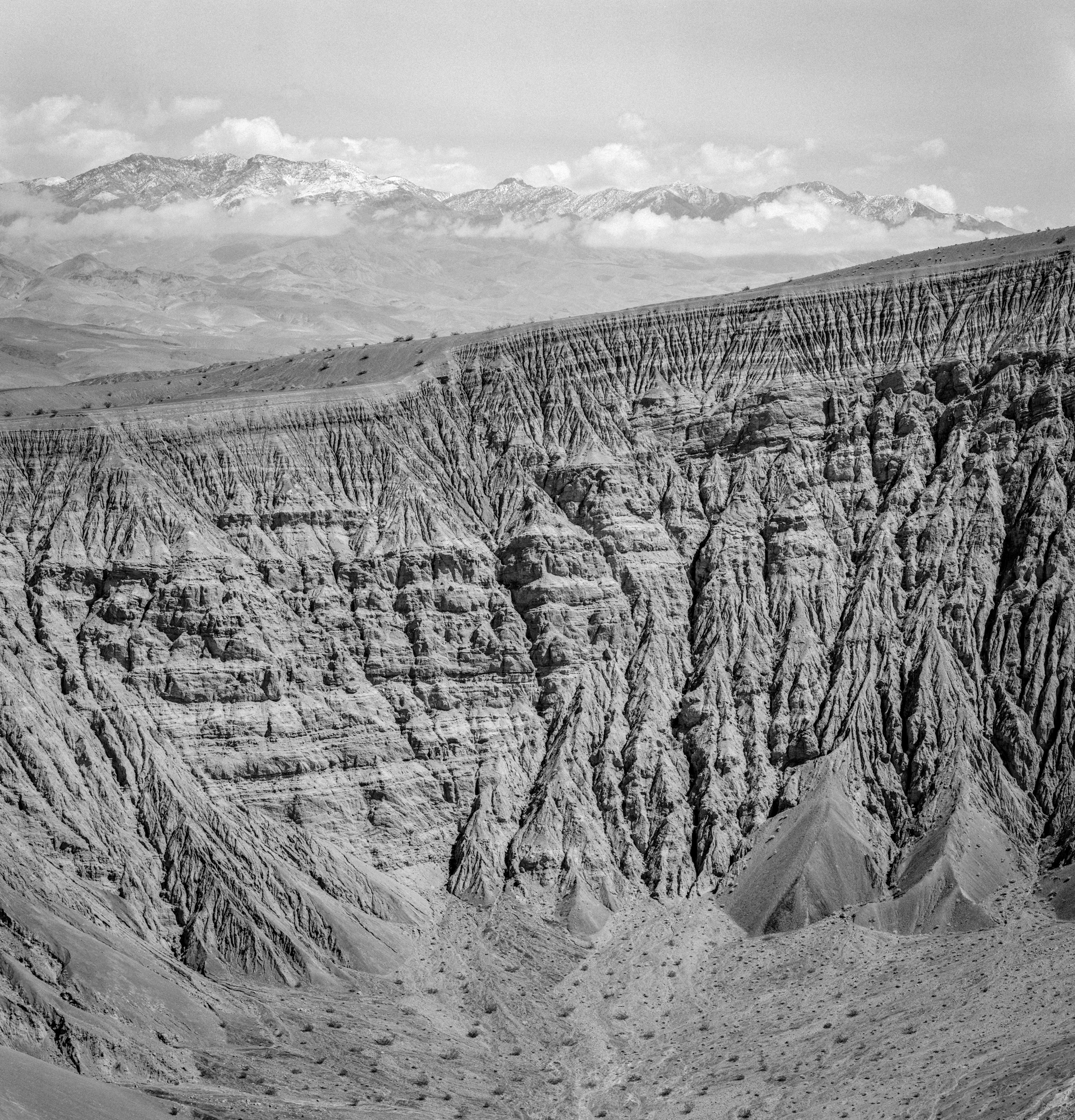Ubehebe Crater / Ilford HP5