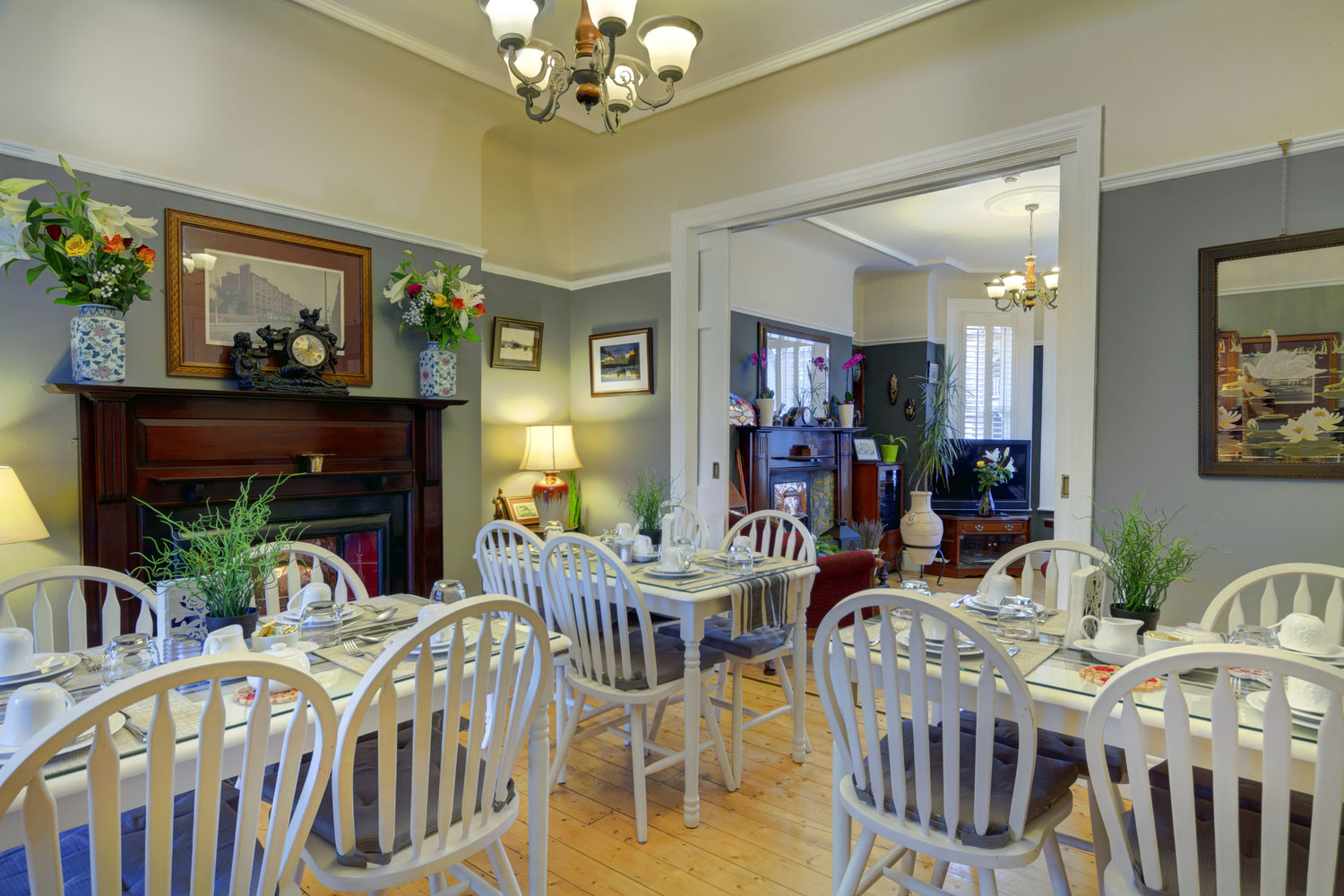 The Dining Room at Avoca House B&B