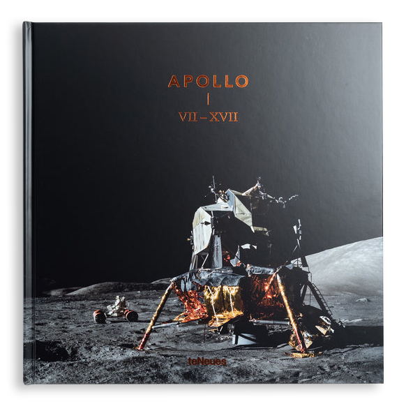 Apollo VII – XVII - A beautiful, cloth-bound large format photography book, encasing over 225 stunning images from each of the 11 manned Apollo missions. Additional chapters in the book elaborate on the photographic training the astronauts underwent and the modified Hasselblad camera equipment they were using.