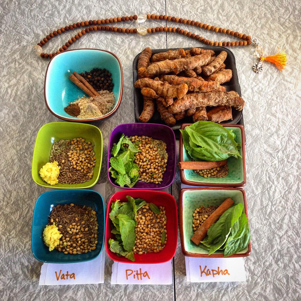 Five Prana Ayurveda Dosha Diet