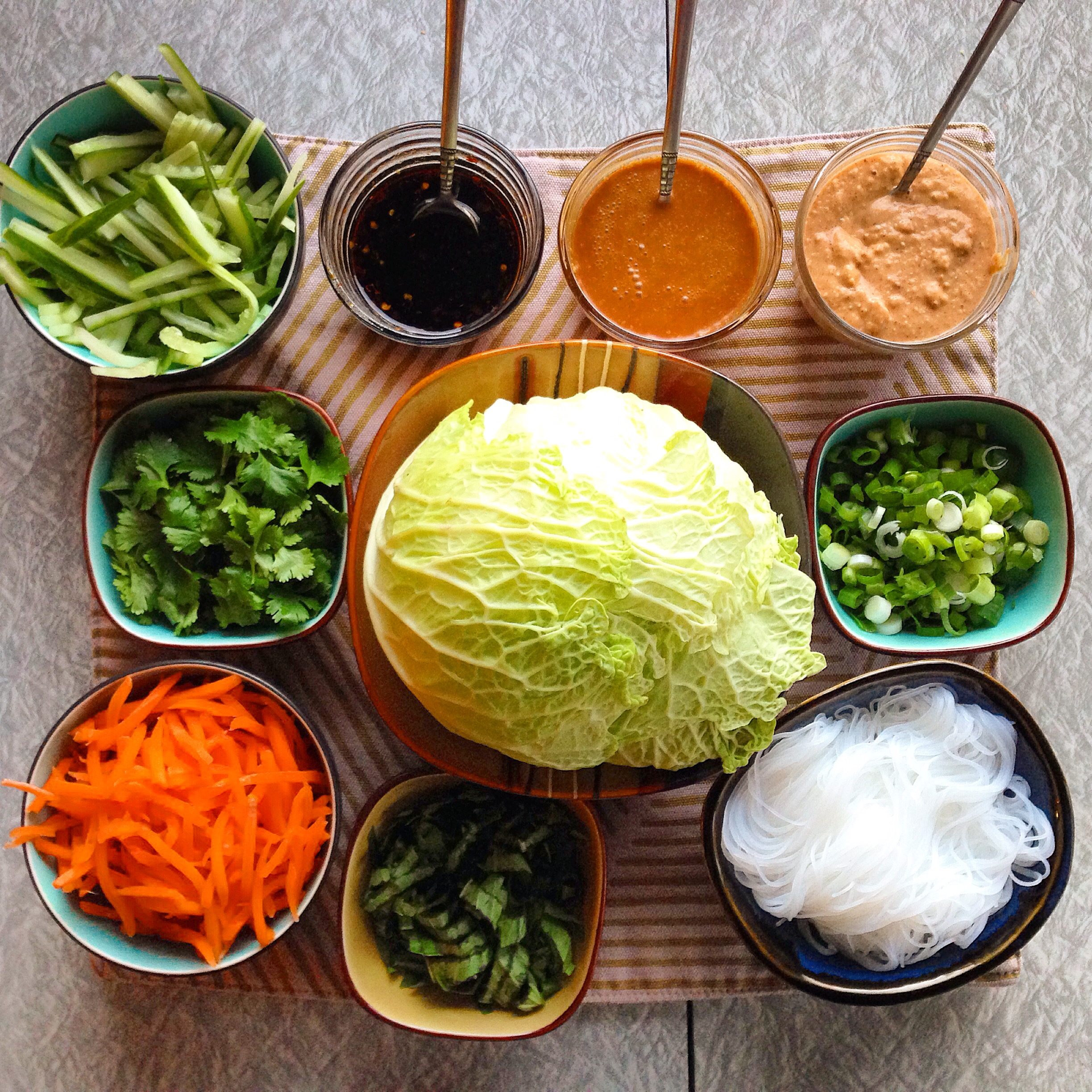 veggie lettuce wraps prep-insta.JPG