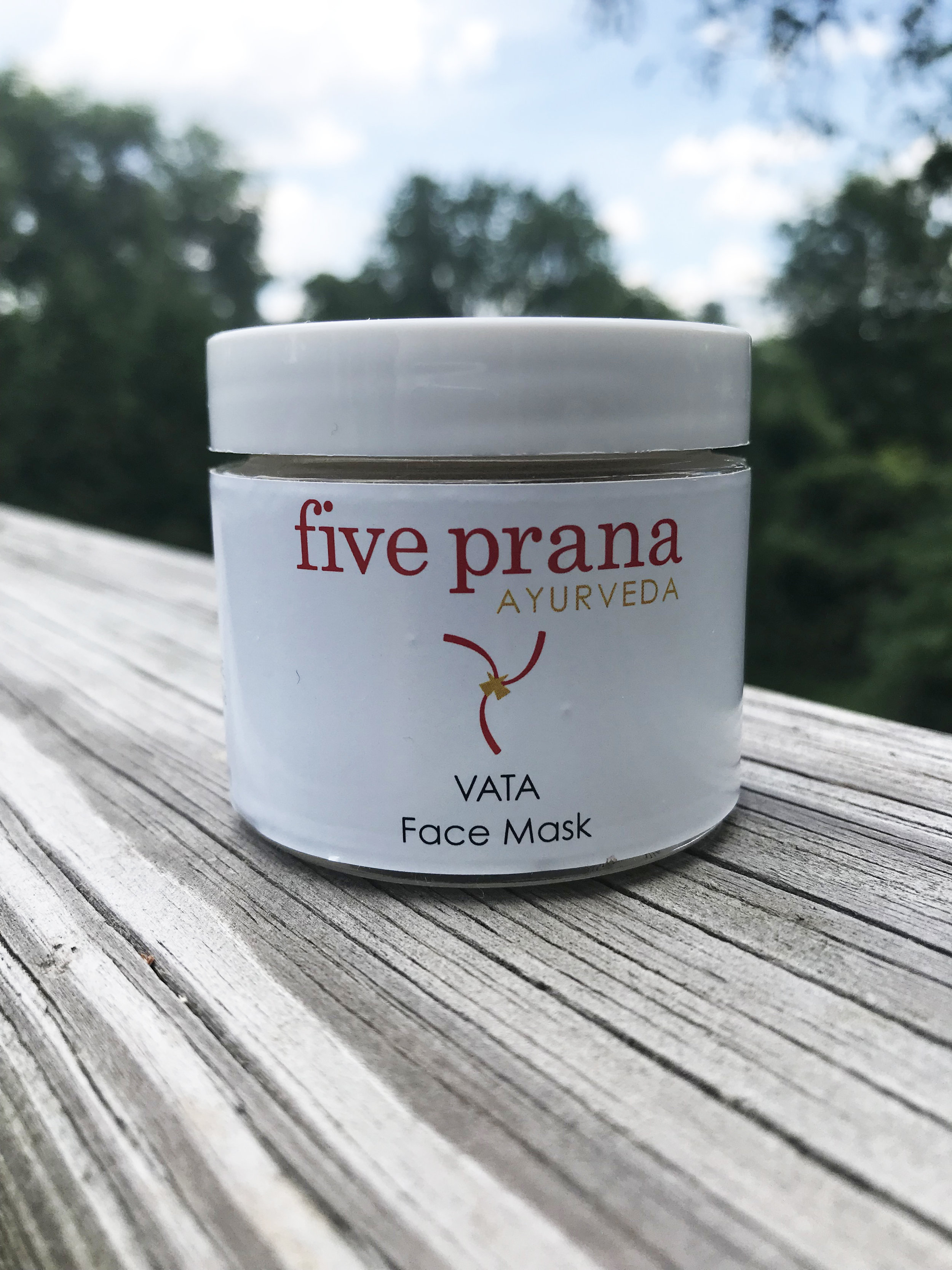 Five Prana Ayurveda Vata Face Mask