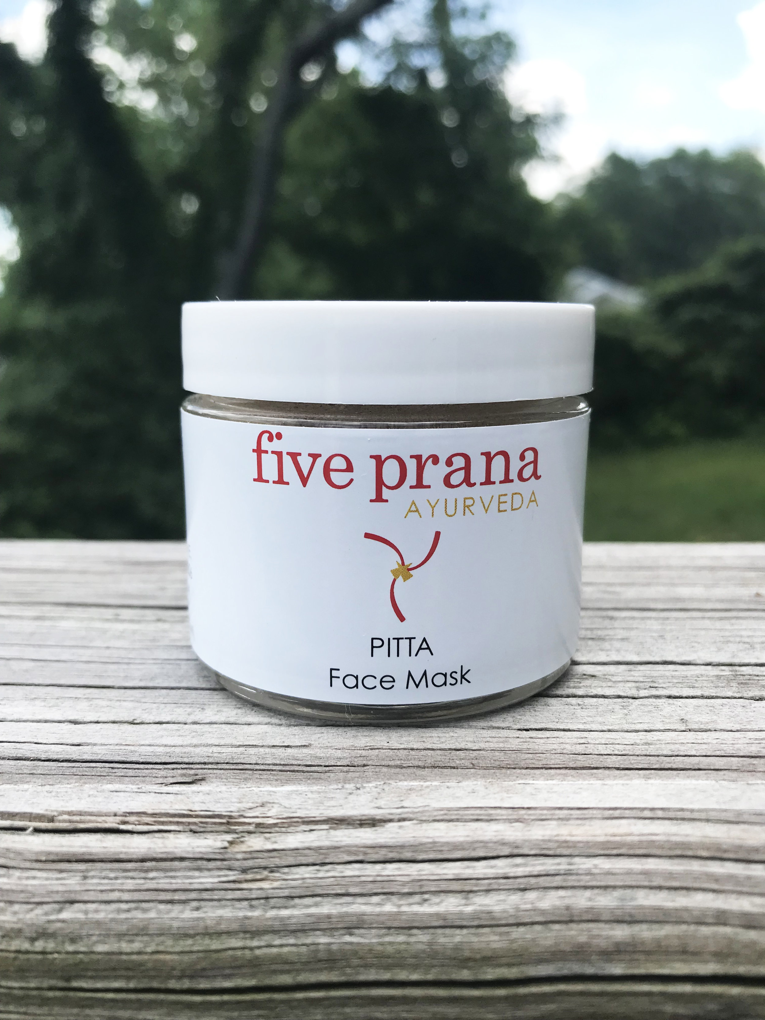 Five Prana Ayurveda Pitta Face Mask
