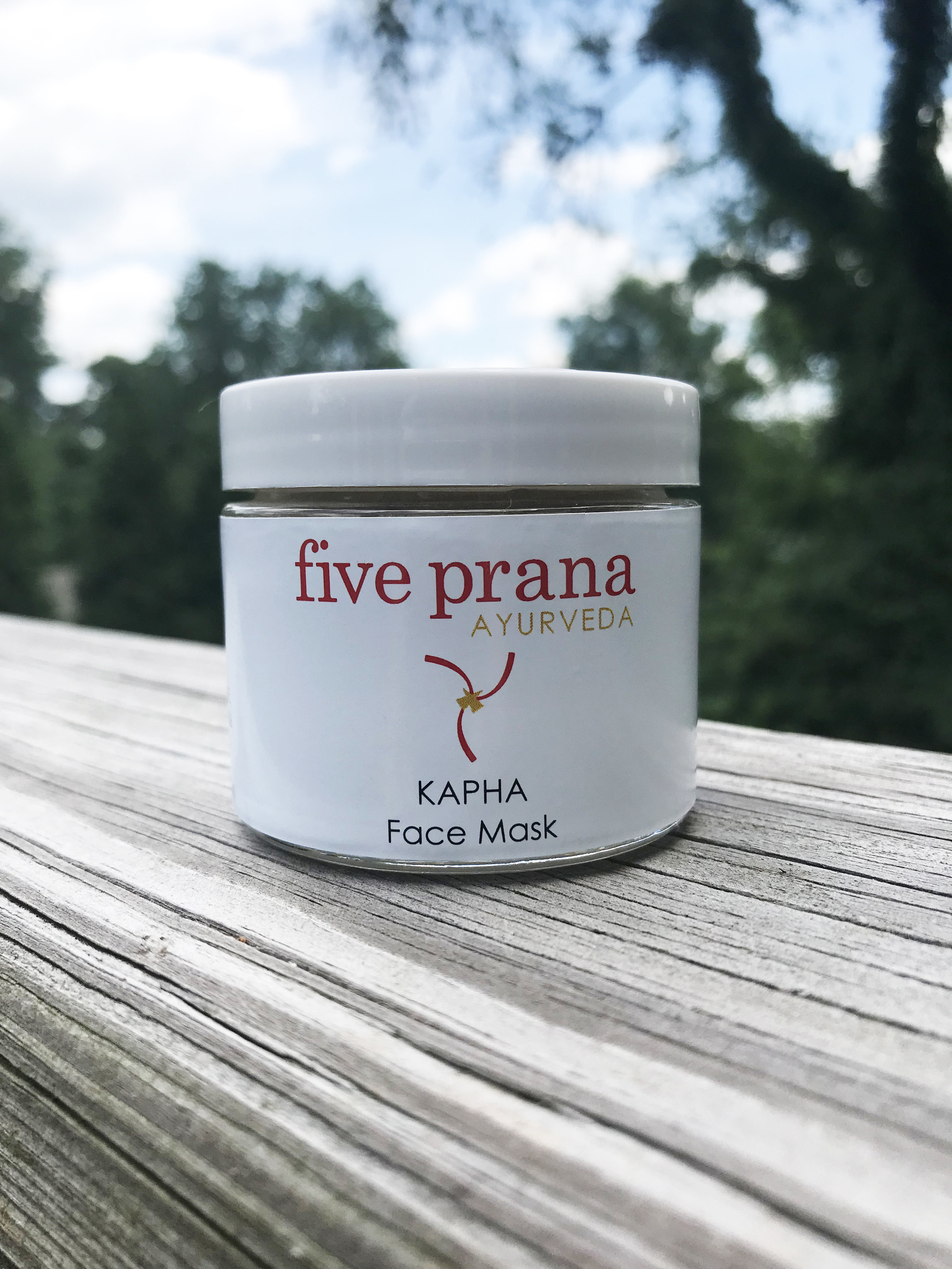 Five Prana Ayurveda Kapha Face Mask