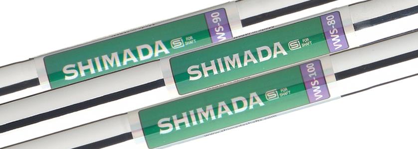 Die neuen VWS Schäfte von Shimada kommen in drei verschiedenen Gewichtsstufen, in VWS 80 (100 gr.), VWS 90 (110 gr.) und VWS 100 (130 gr.). Die Schäfte profitieren von einem sehr ähnlichen Stufenmuster, verwenden jedoch eine variable Wandstärke, um die drei unterschiedlichen Gewichte zu erzeugen. - VWS 80:R and SWeight:100gLength:41.5