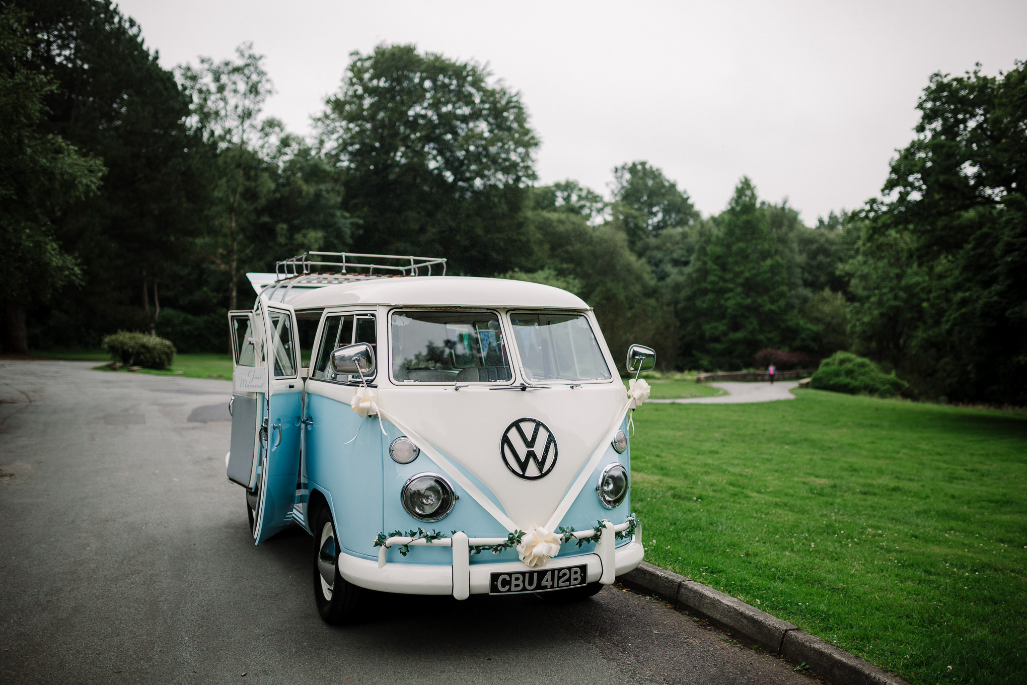 Photograph of the Volts Wagon Campervan