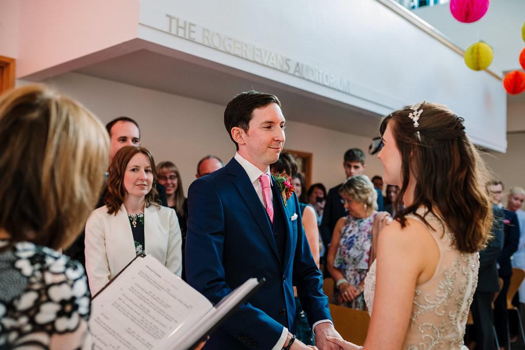 Wedding ceremony at YSP