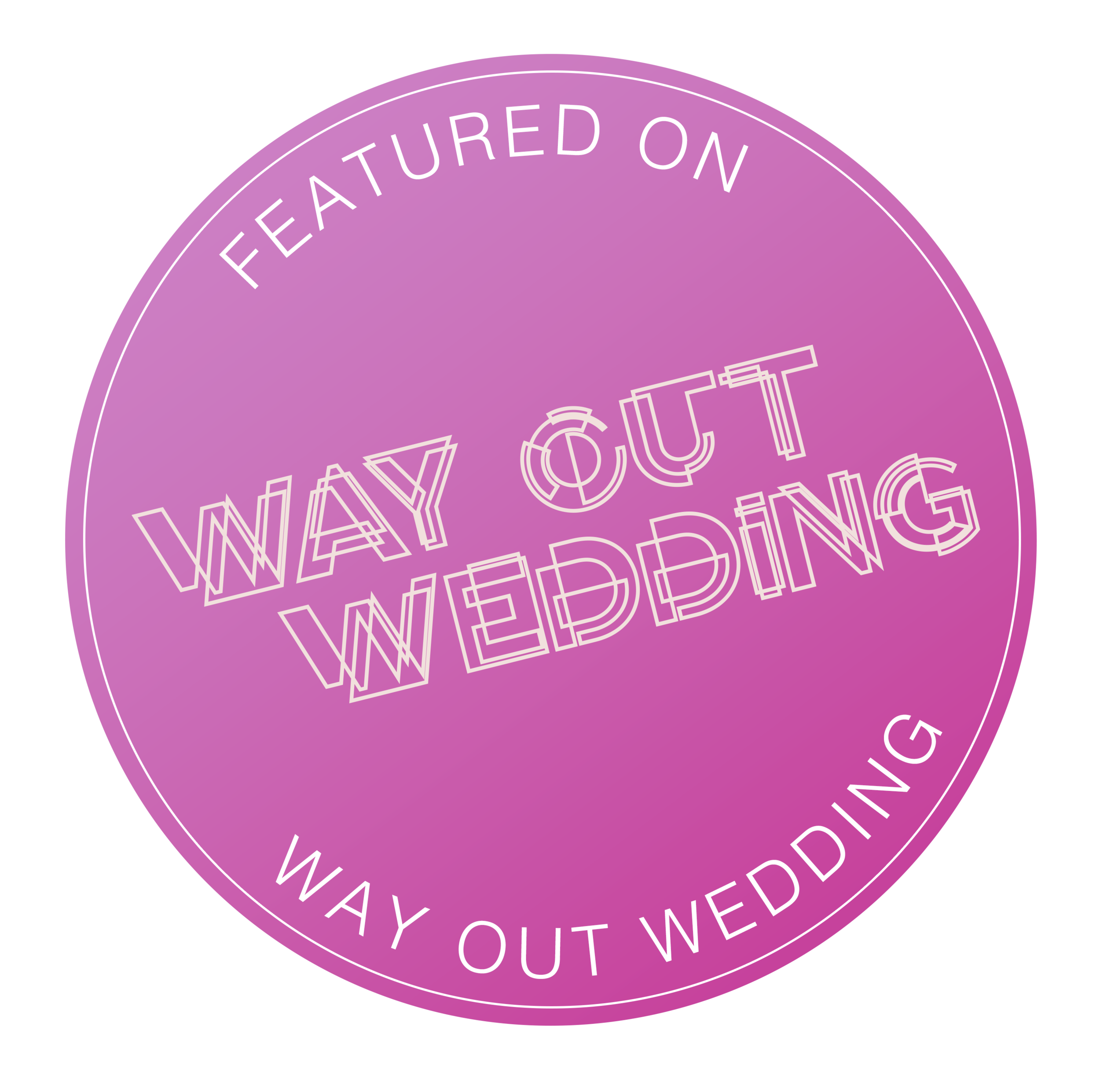 Link to Way Out Wedding Blog feature. Lancashire wedding photography