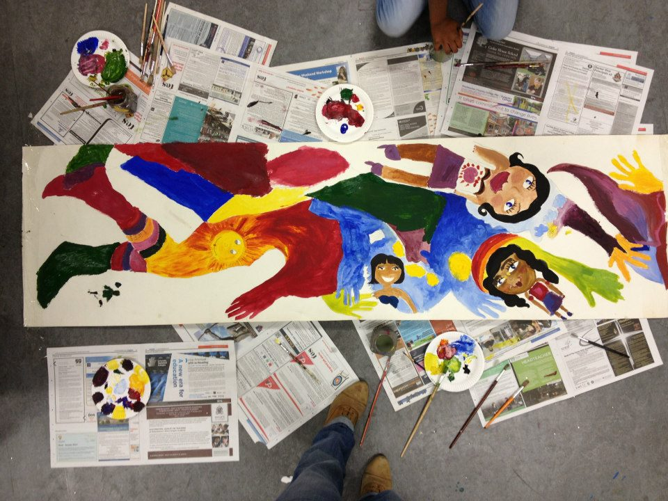 FREEDOM PROJECT WITH YOUNG PEOPLE FROM THE WOODPECKER YOUTH CENTRE