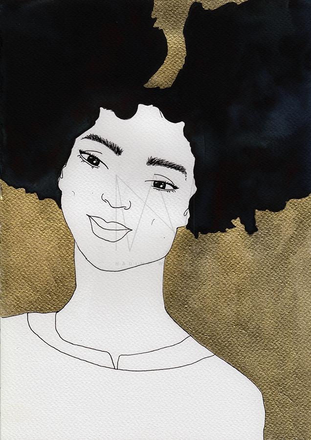 nadine-walker-illustration-blackgold-tee.jpg