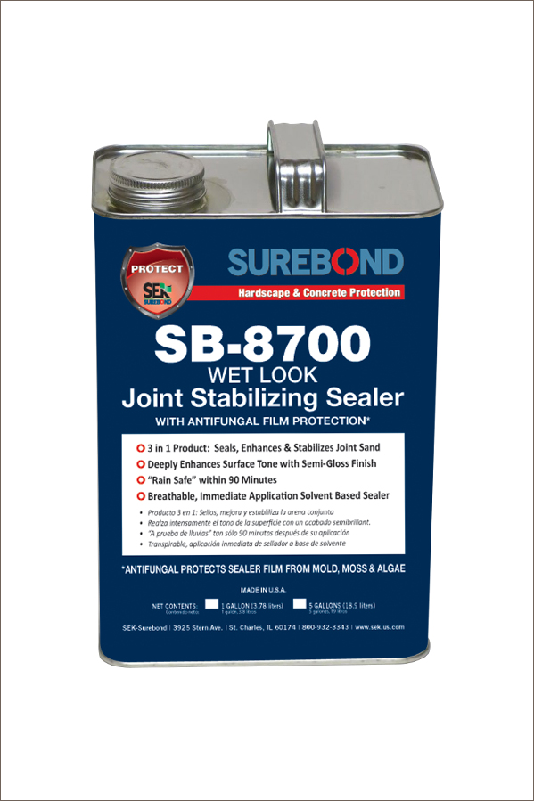 SEK Joint Stabilizing Sealer, SB-8700 - Wet Look