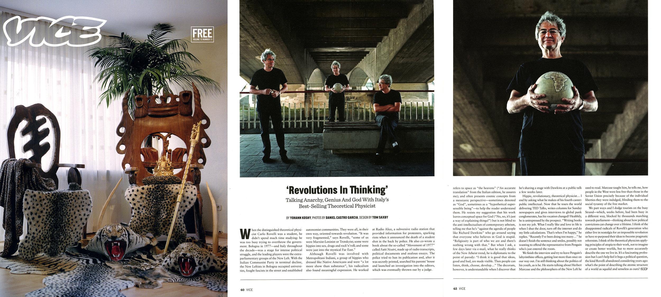 Vice Magazine - Vol. 13 No. 11 - November 2015