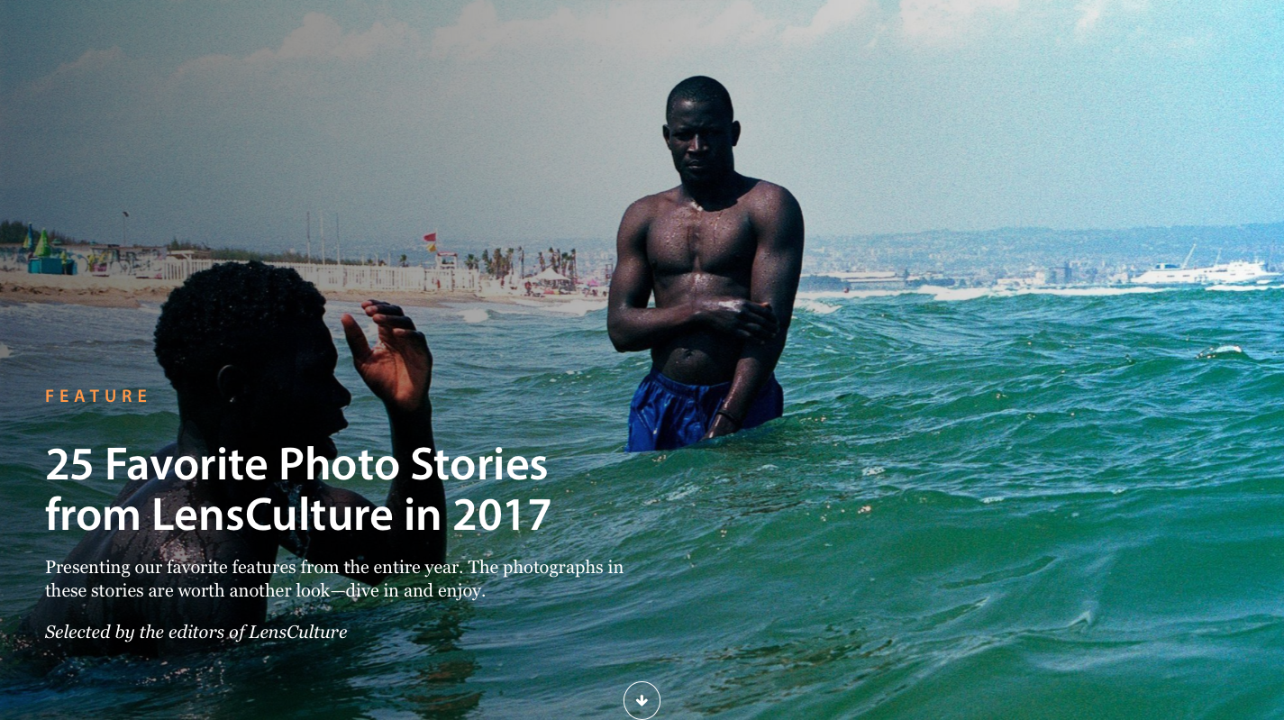 Lensculture's Top 25 Interviews - December 2017
