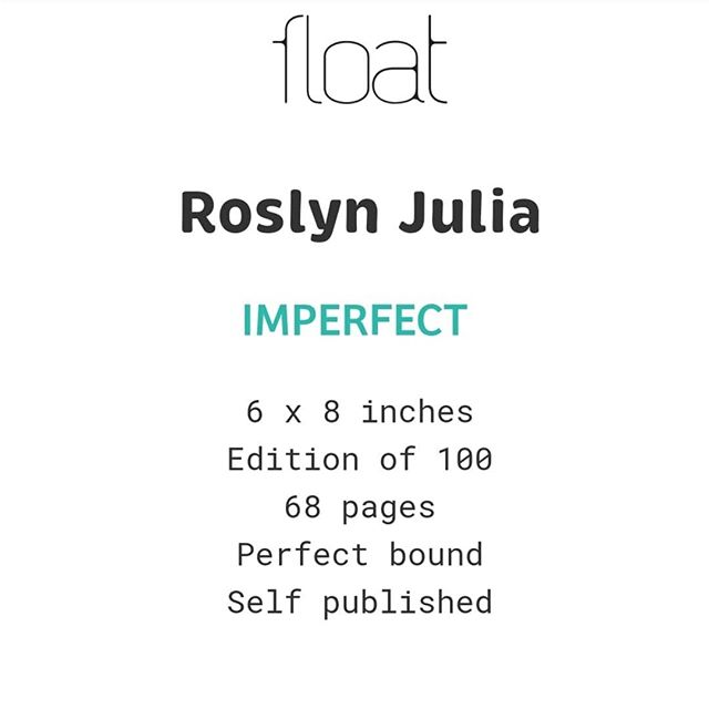 I'm very excited to have a new book review up at @float_magazine. Many thanks to @roslynjulia for the amazing work. If you'd like to check it out, follow the link in my bio ♡♡♡