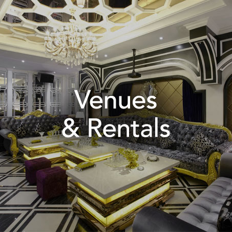 WE KNOW THE CLASSIC, THE TRENDY, AND THE HIDDEN GEMS.  - Sourcing - Contract negotiation - Furniture/decor/AV rental procurement - Ongoing coordination