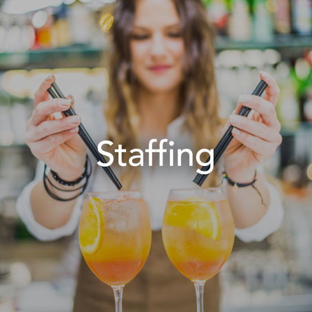 WHENEVER, WHEREVER, WHATEVER — WE HAVE SOMEONE FOR THAT.  - Reception/check-in - Photographer - Bartenders and food servers - Coat check - AV/tech support - Mcs
