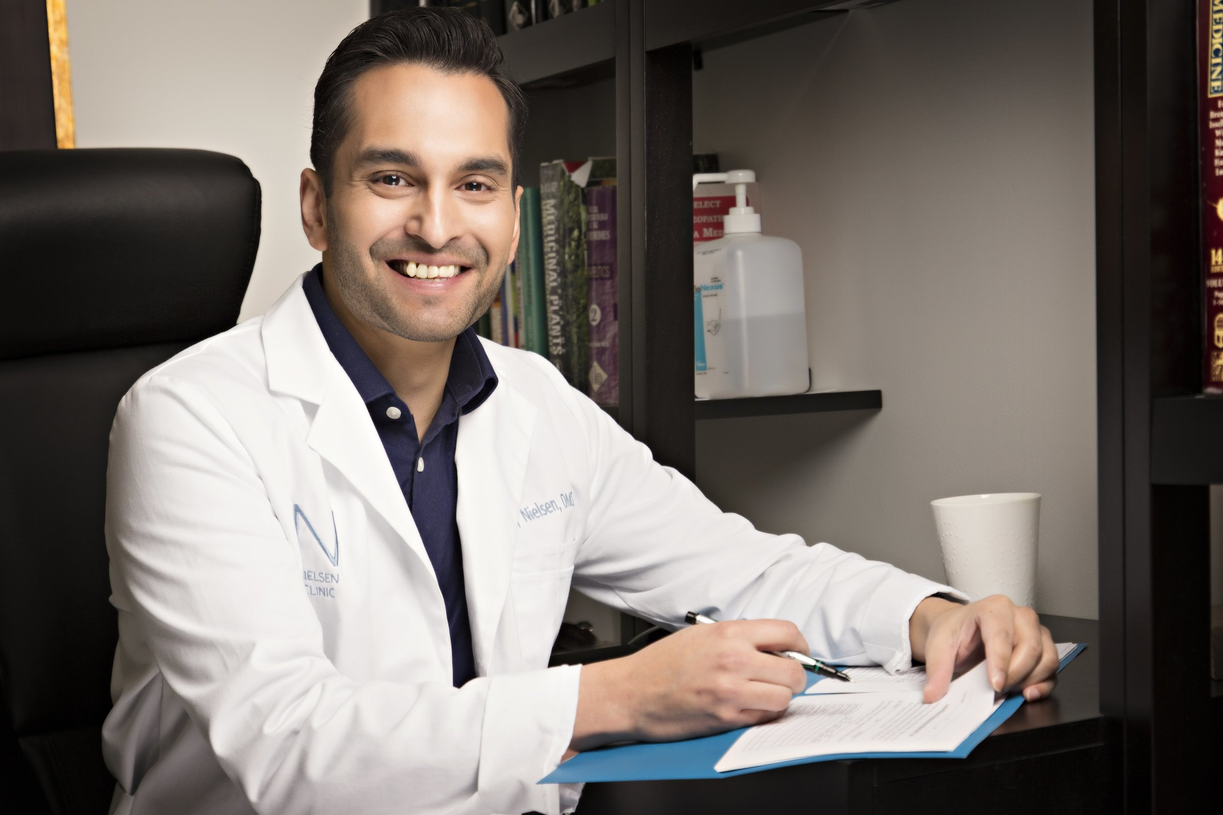 Dr. Vijay Nielsen, Homeopathic doctor
