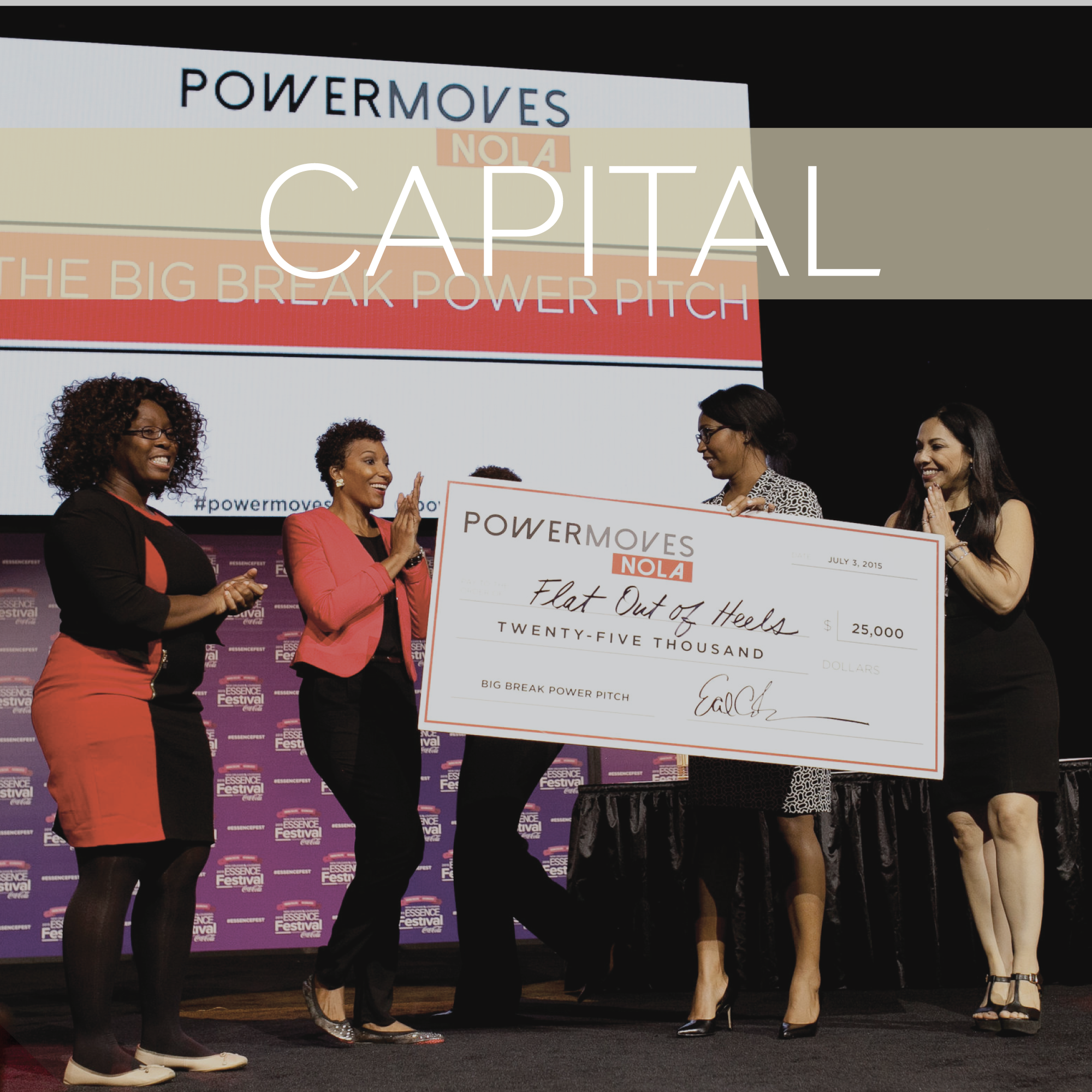 PowerMoves leads by example by funding our top founders and connecting them with investors and venture capitalist.