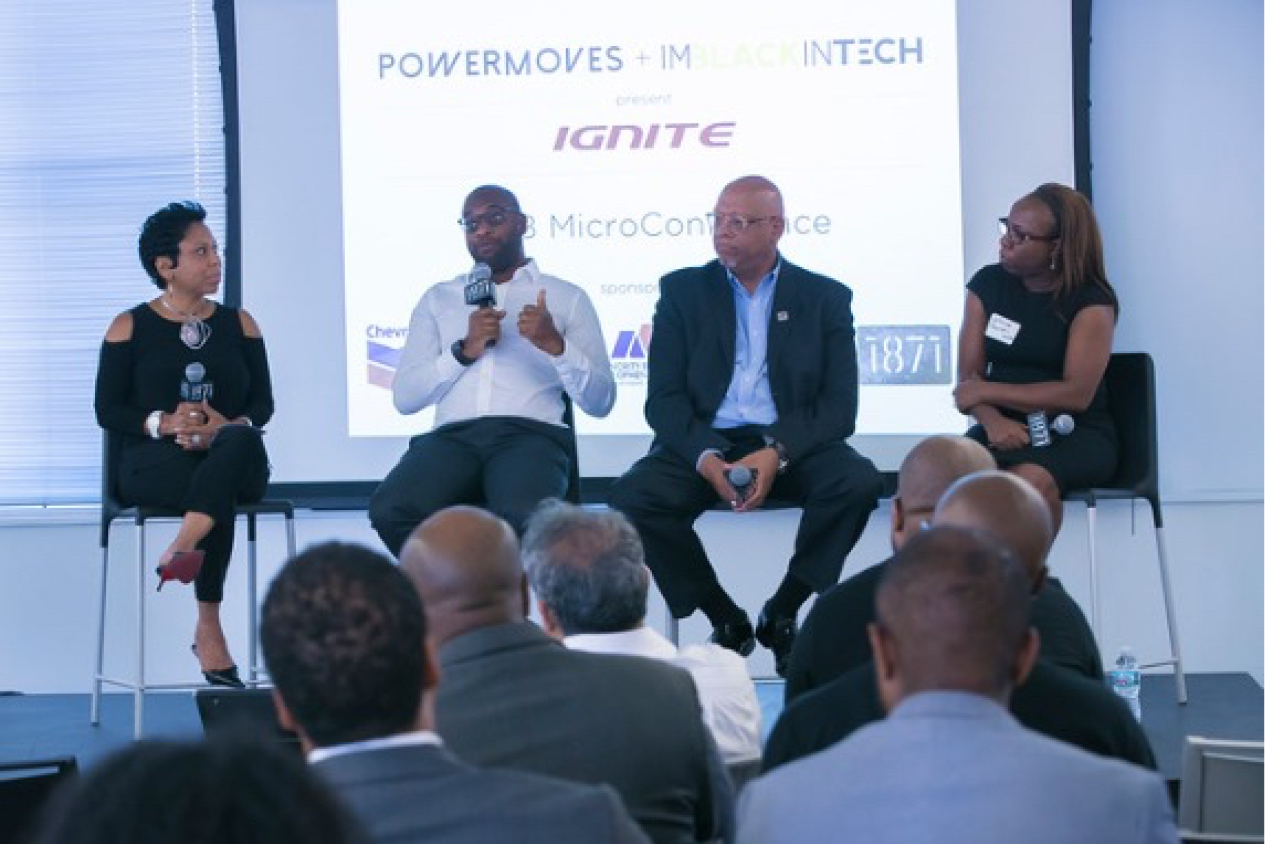 PowerMoves partnered with ImBlackInTech and 1871 to host a one-of-a-kind B2B Micro-Conference designed to help founders of color seeking corporate and government contracts to boost their revenues. Brian Brackeen, Founder of Kairos, and a panel of experts share best practices for closing B2B deals.