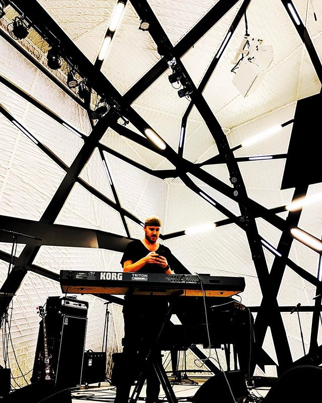 Tonight - is all about coming together // #throughaprism @korgofficial @nationalsawdust