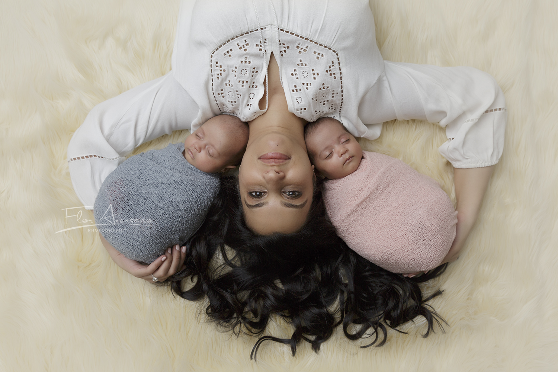 twins & mom FAP