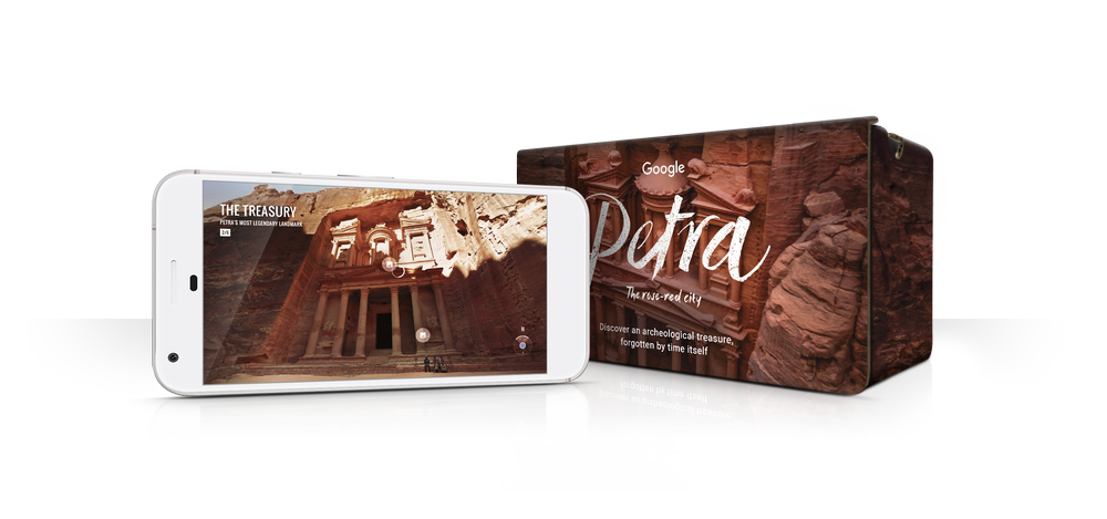 Petra VR experience