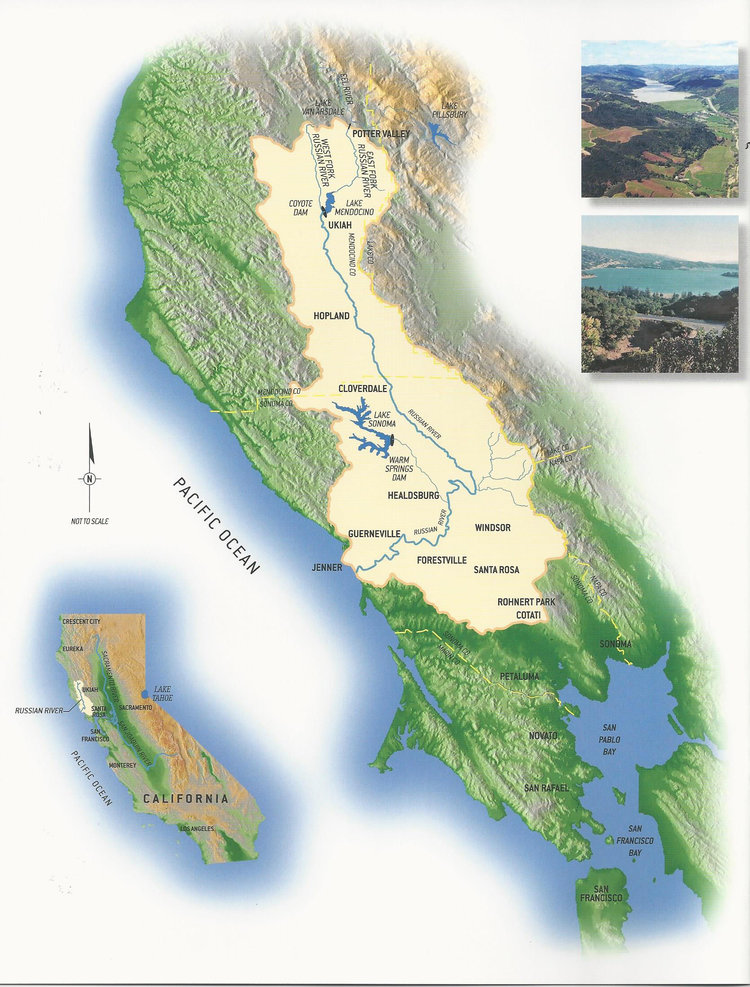 Russian River watershed