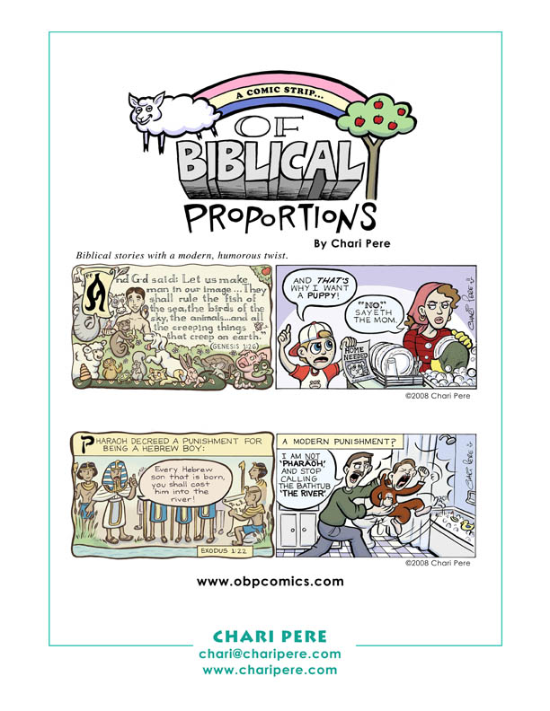 """""""Of Biblical Proportions"""""""