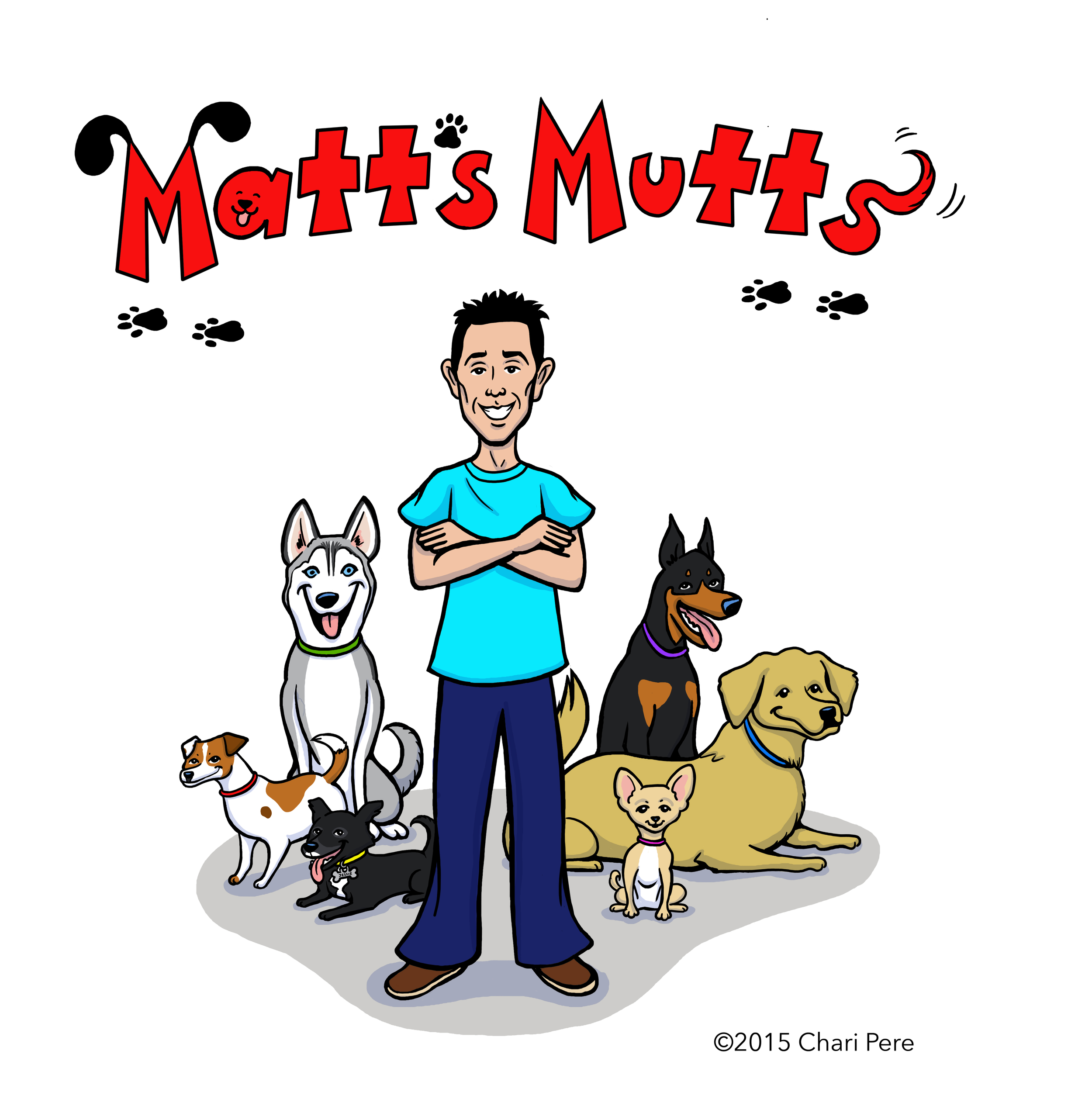 Matt's Mutts Logos