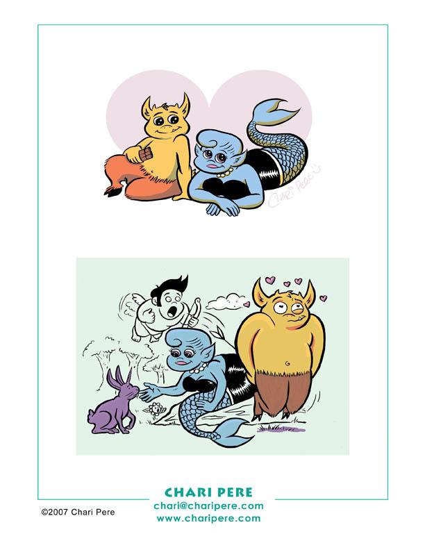 'Mythbustas' Character Designs