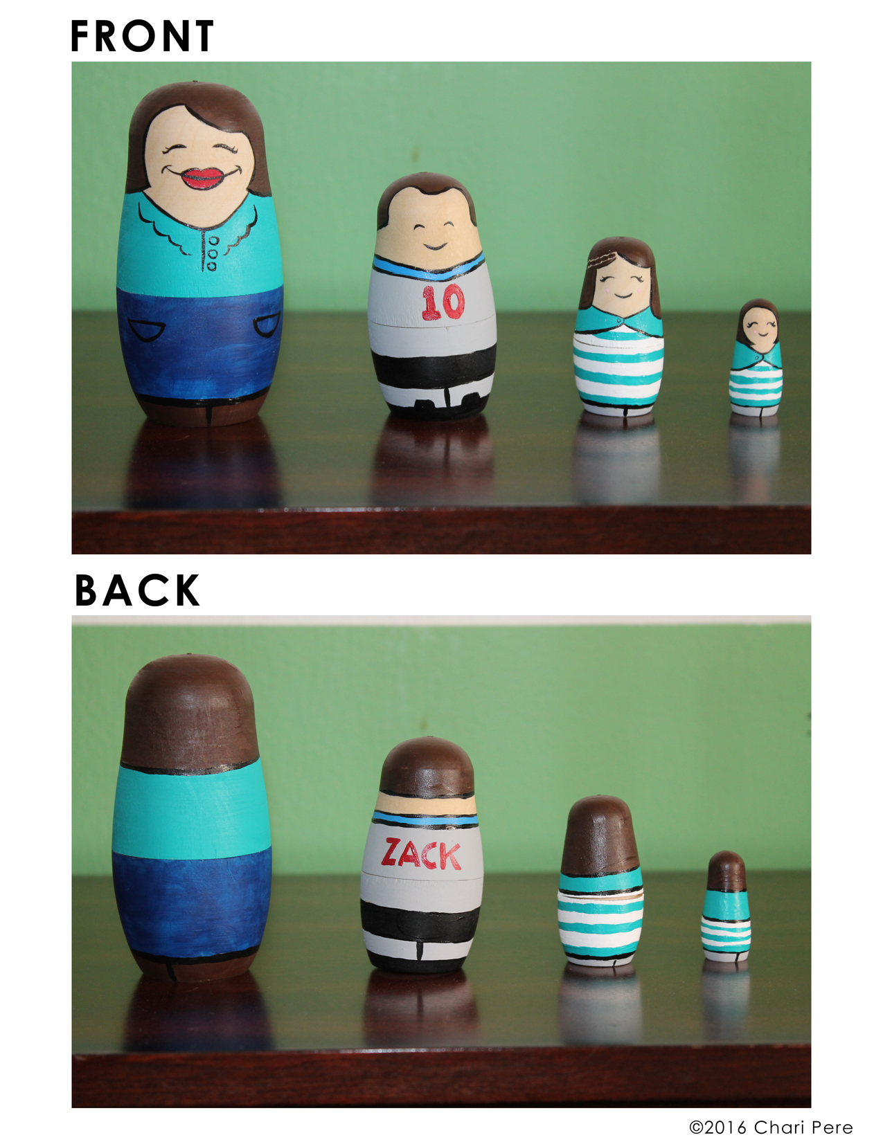Russian Nesting Doll Caricatures #2