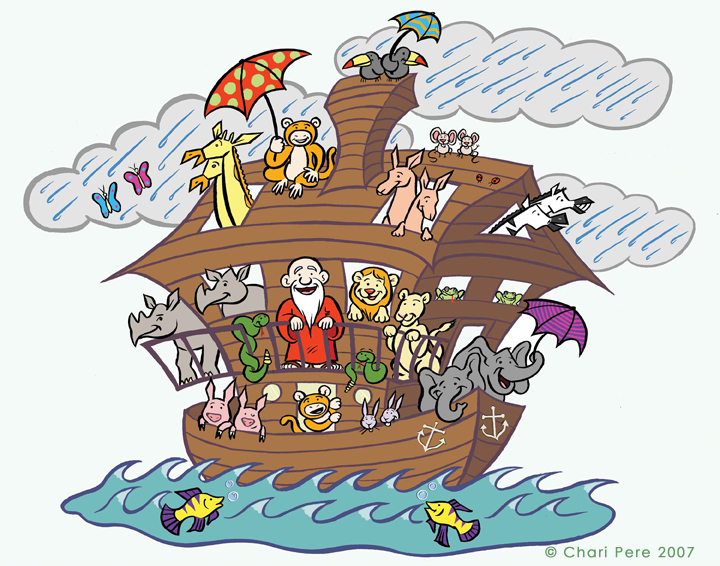 Noah's Ark, Commissioned by JCC of Staten Island