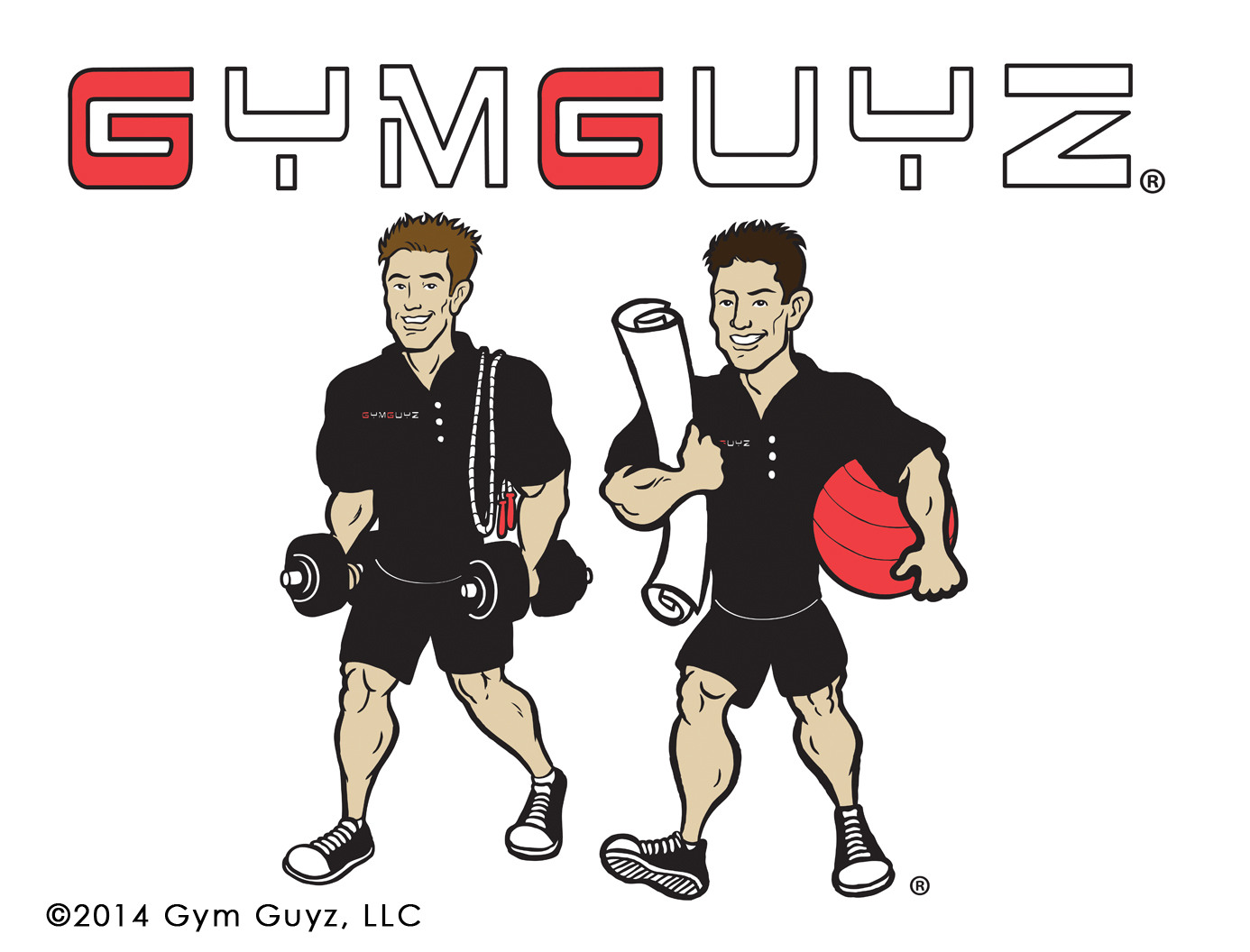 Gym Guyz Redesigned Logo