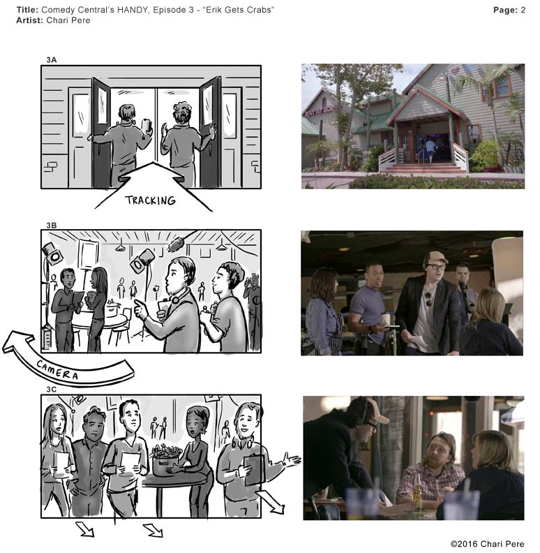 "Comedy Central's HANDY, Episode 3 - ""Erik Gets Crabs"" Pg 2"