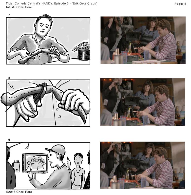 "Comedy Central's HANDY, Epiosde 3 - ""Erik Gets Crabs"" Pg 4"