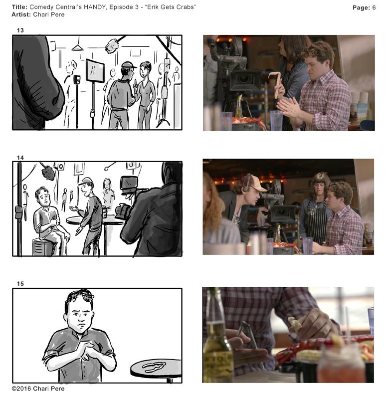 "Comedy Central's HANDY, Episode 3 - ""Erik Gets Crabs"" Pg 5"
