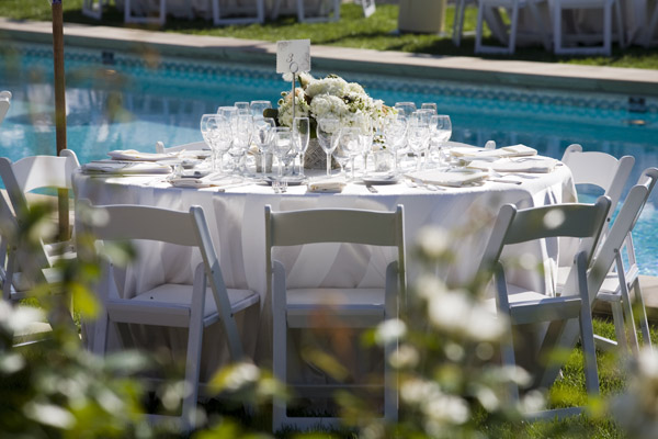 www.santabarbarawedding.com | Our Lady of Mount Carmel Ceremony | Melissa Musgrove Photography | Reception Table