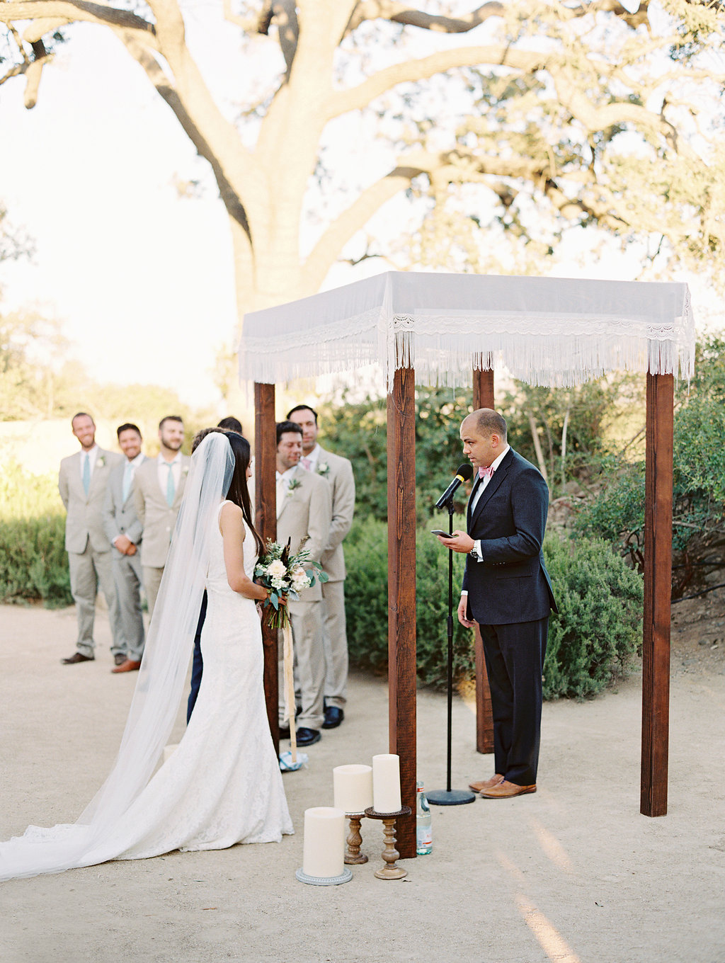 www.santabarbarawedding.com | Lavender and Twine | Sunstone Winery | Ceremony | Vows