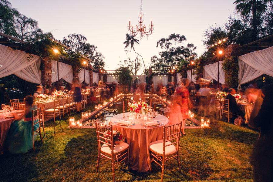 santabarbarawedding.com | Santa Barbara Wedding Style Blog | Weddings at Belmond El Encanto Hotel | MiBelle Photography | Red Wedding Inspiration