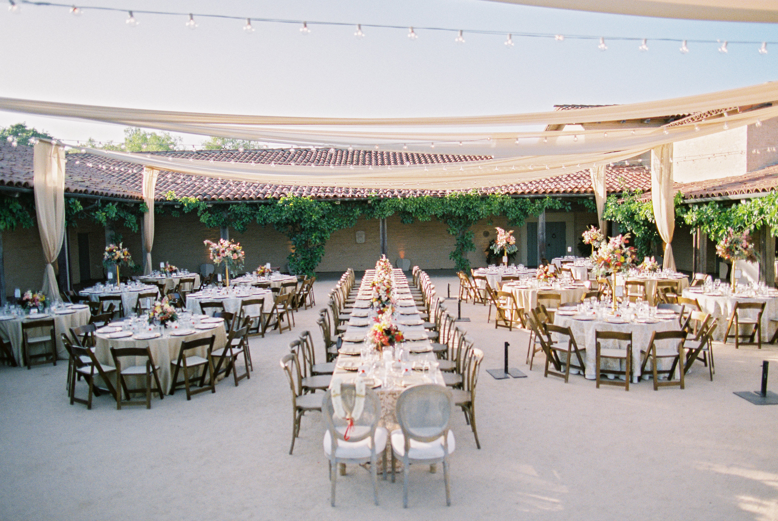 santabarbarawedding.com | photographer: Michael & Anna Costa | Santa Barbara Historical Museum | Wedding Location