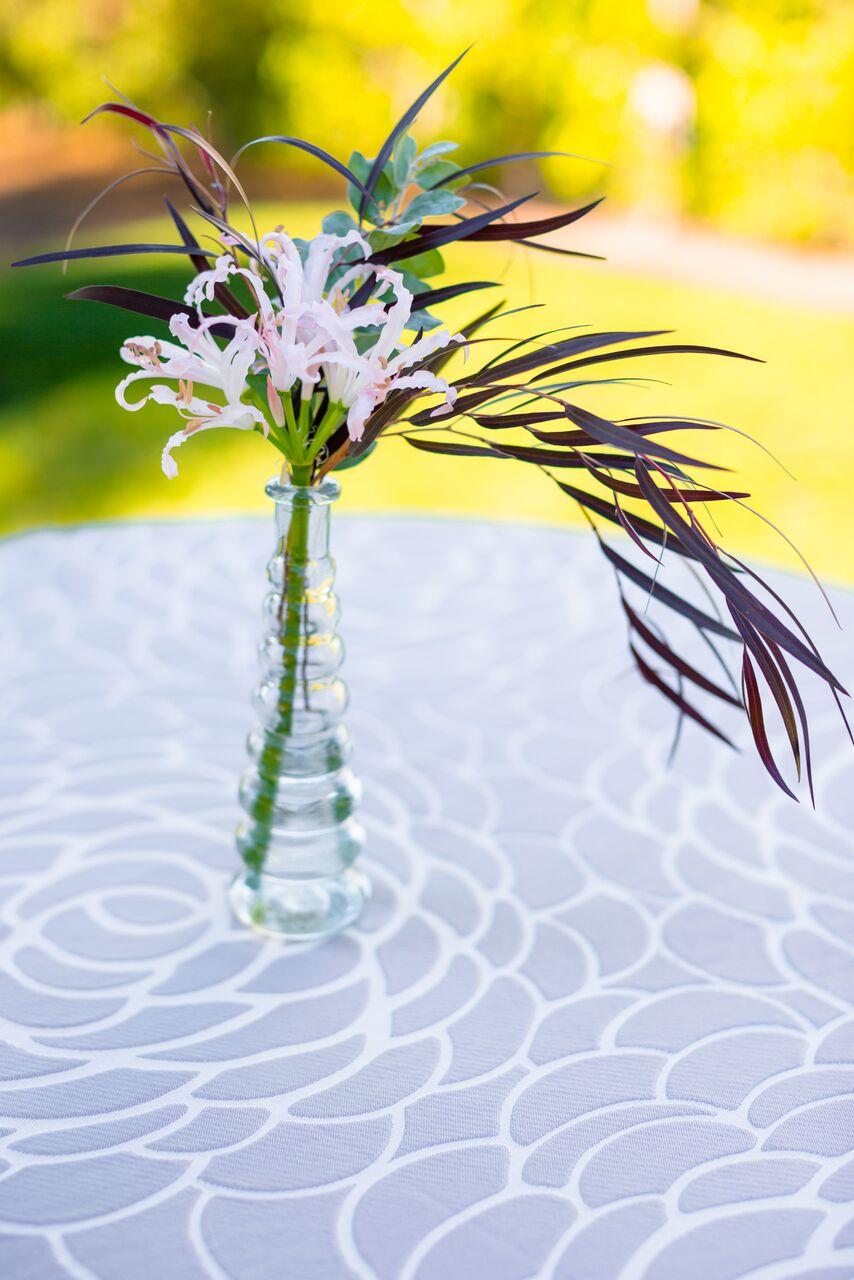 www.santabarbarawedding.com   The Santa Barbara Club   Wildflower Linen   Wedding Planner Brunch   Trendy Tuesday   Silver Rosa   www.MehtaWeddings.com