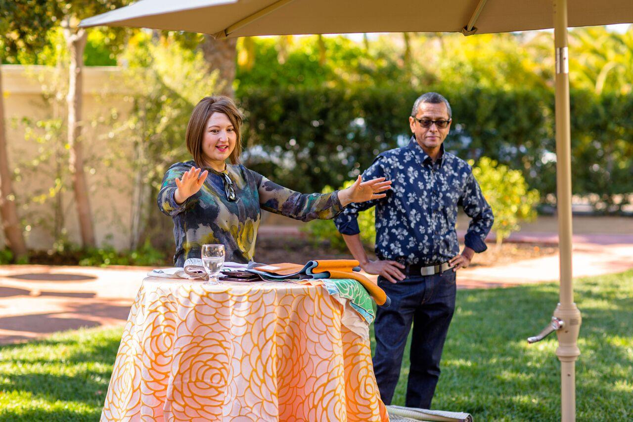www.santabarbarawedding.com   The Santa Barbara Club   Wildflower Linen   Wedding Planner Brunch   Trendy Tuesday   MehtaWeddings.com