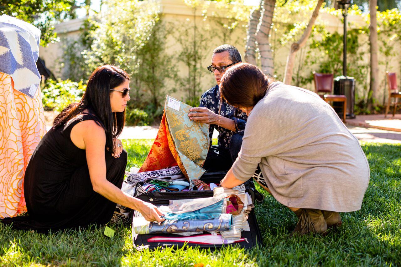 www.santabarbarawedding.com   The Santa Barbara Club   Wildflower Linen   Wedding Planner Brunch   Trendy Tuesday