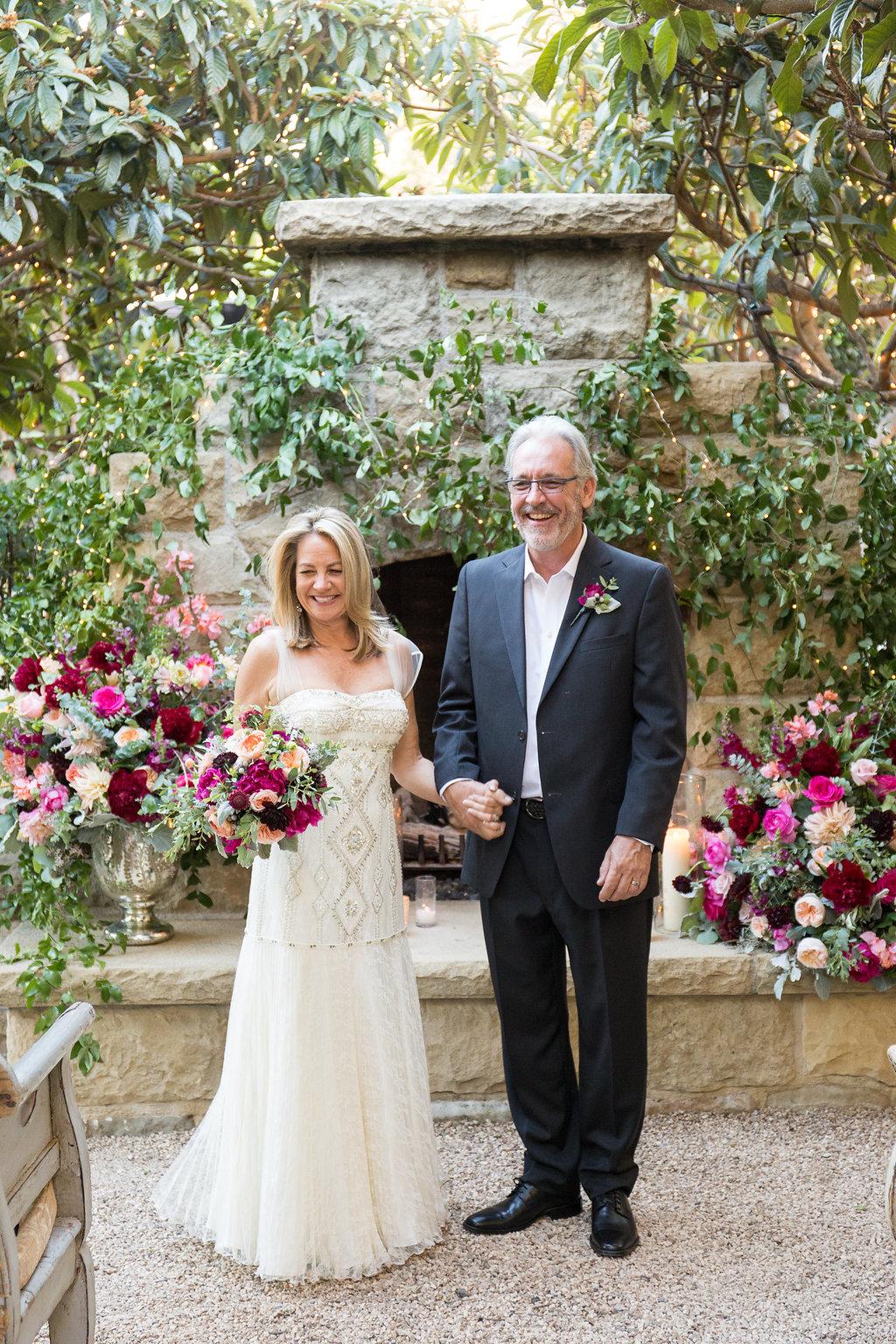 SantaBarbaraWeddingStyle.com | Barbra Mosouris | Cody Floral | San Ysidro Ranch | Elopement | Melissa Musgrove | Wedding Ceremony Floral