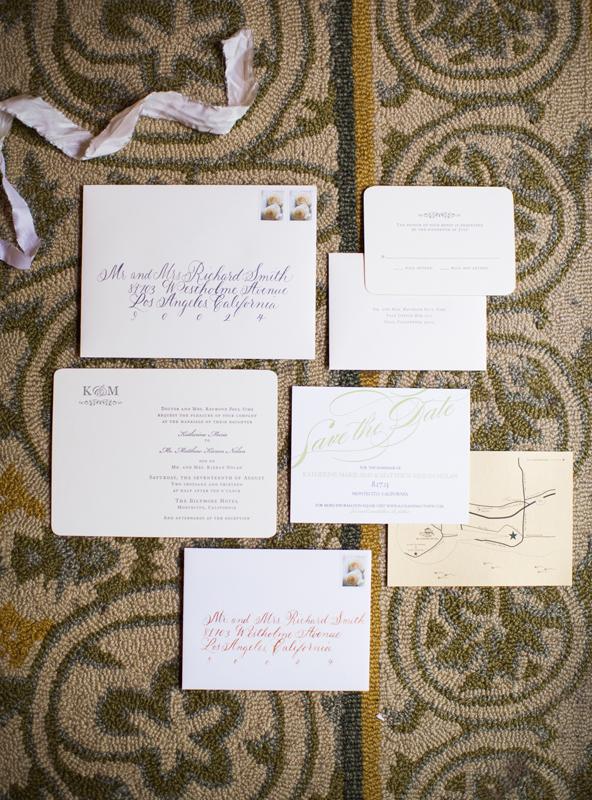 www.santabarbarawedding.com | Santa Barbara Invitations | Wedding Invitations | Invitation inspiration | Nancy Neil Photography | Wedding Kate