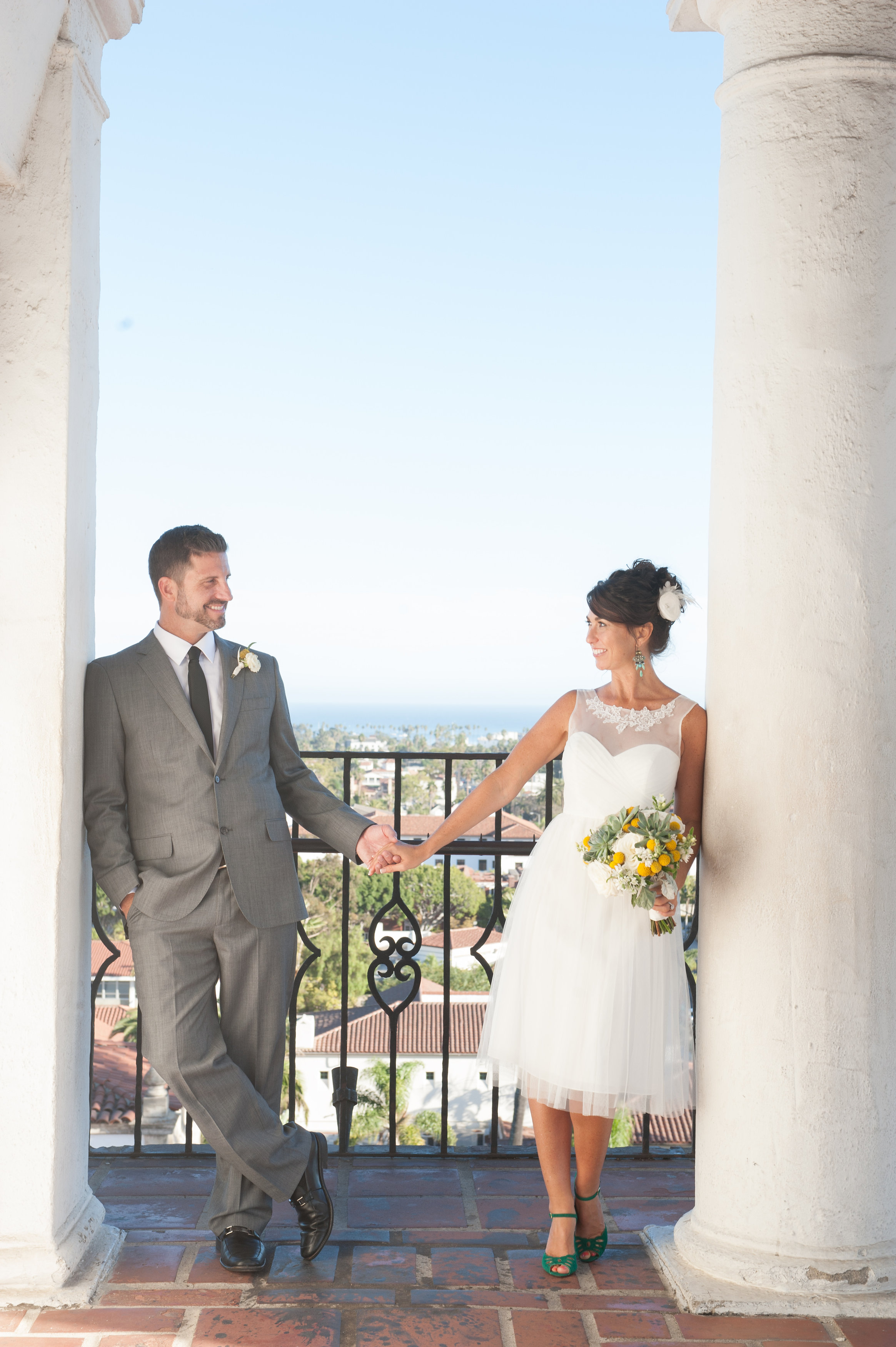 www.santabarbarawedding.com   Santa Barbara Courthouse   Photo: By Cherry Photography   elopement locations