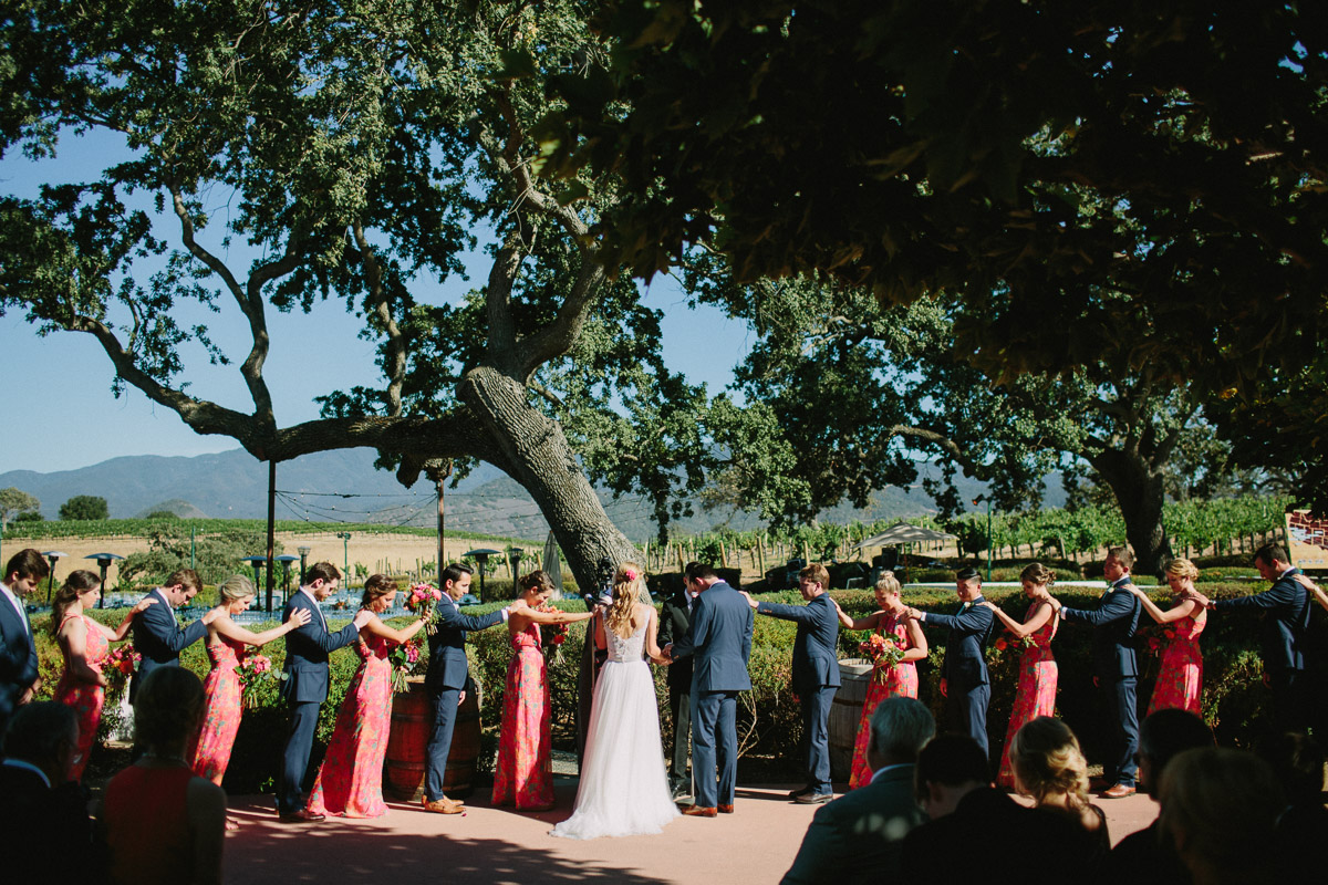 santabarbarawedding.com | Photo: Let's Frolic Together | Gainey Vineyard Santa Ynez Wedding Venue