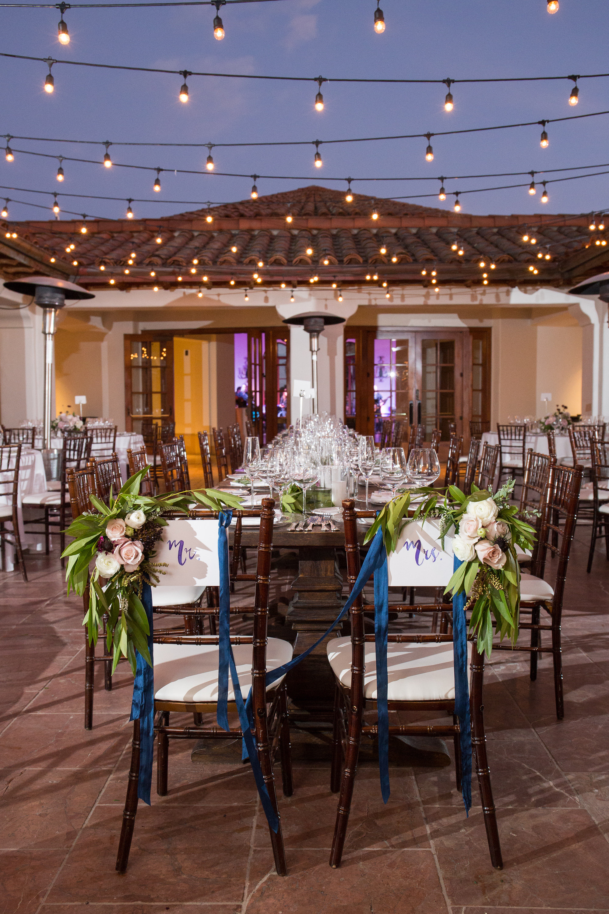 www.santabarbaraweddingstyle reception set up bacara resort and spa melissa musgrove